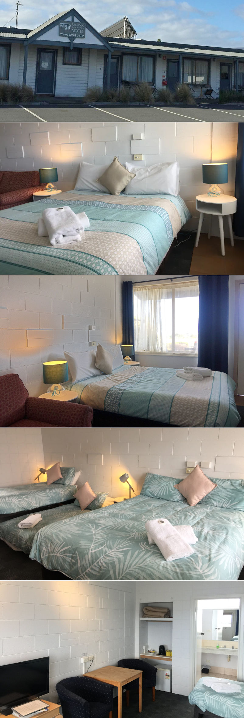 Kilcunda Ocean View Motel - Ocean view rooms