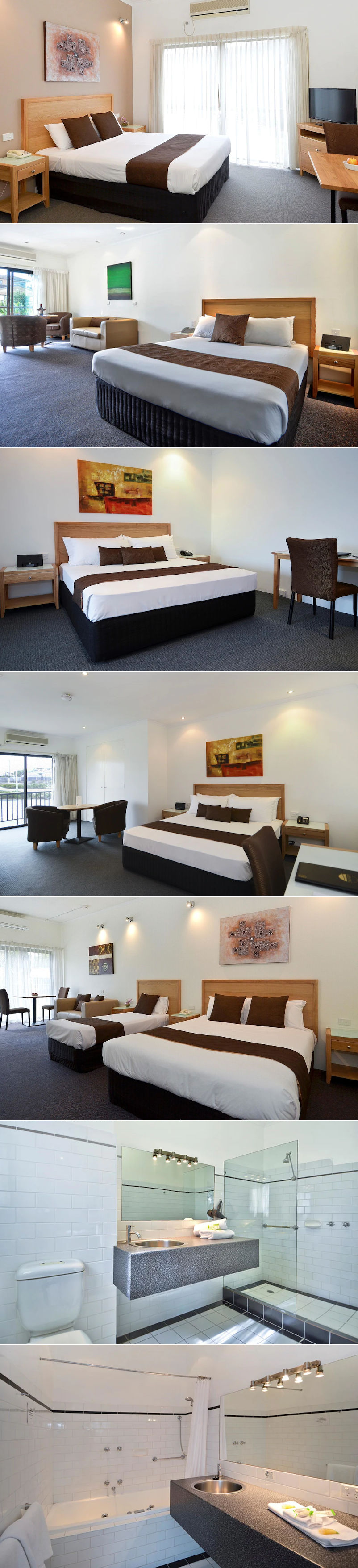 Geelong Motor Inn & Serviced Apartments - Motel rooms