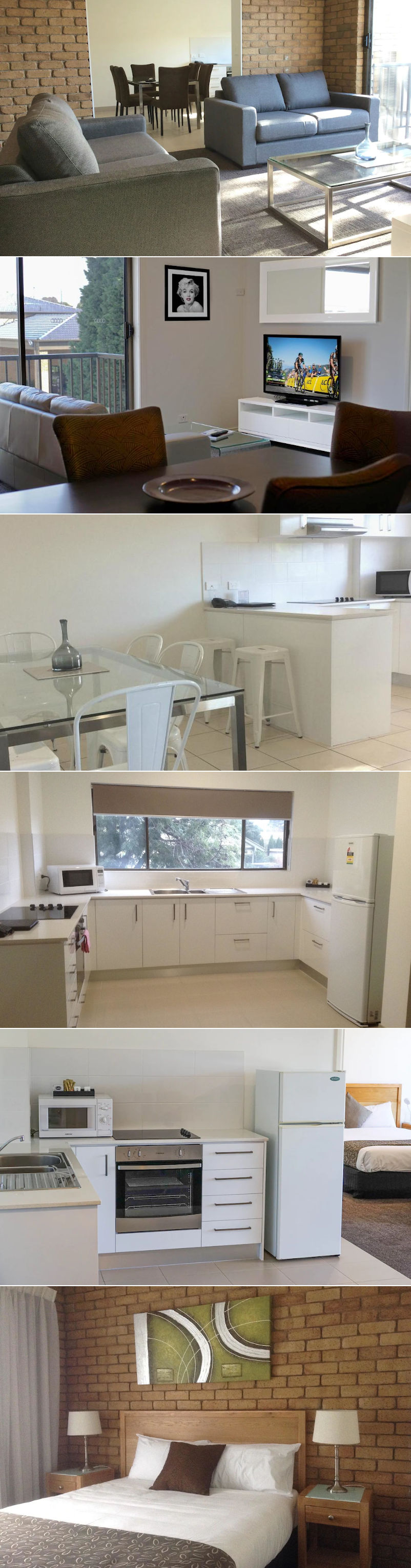 Geelong Motor Inn & Serviced Apartments - Apartments