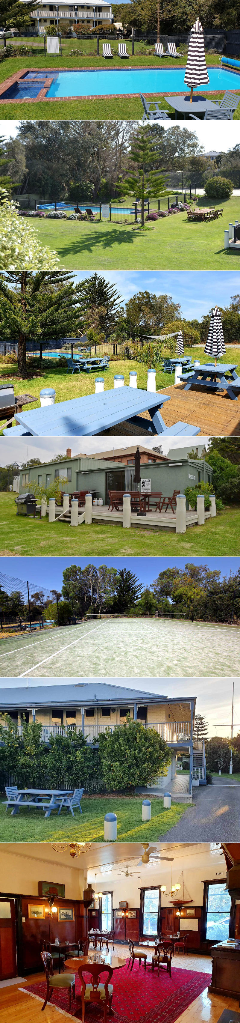 Point Lonsdale Guest House - The facilities and grounds