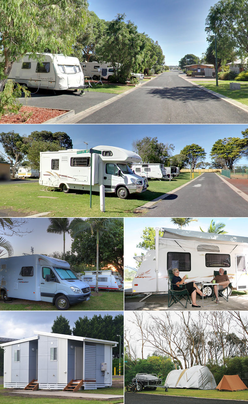 NRMA Portland Bay Holiday Park - Sites