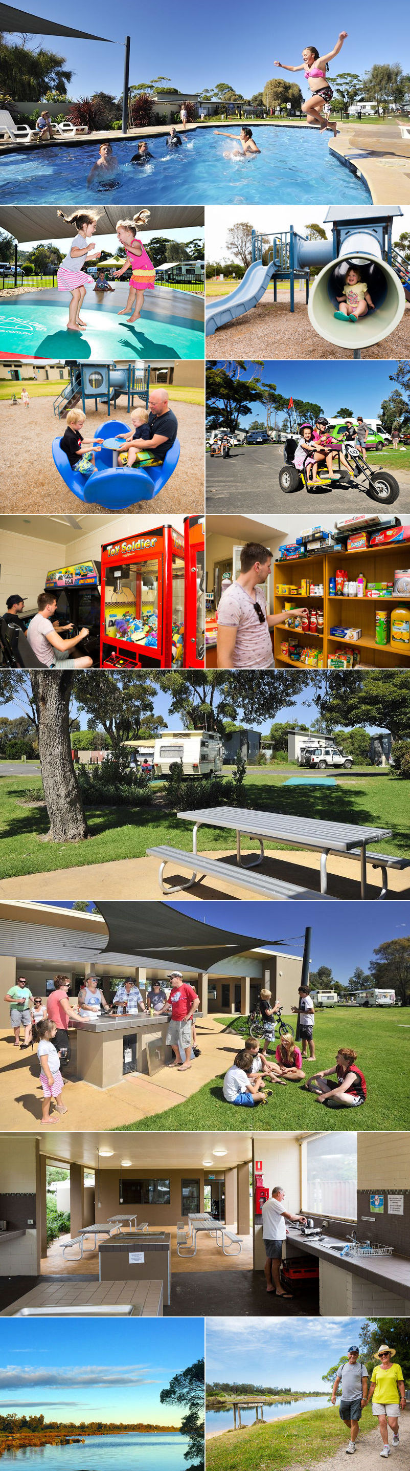 NRMA Eastern Beach Holiday Park - Grounds and facilities