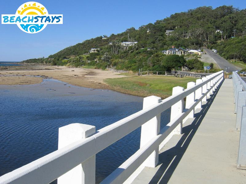 Bridge on the Great Ocean Road over the Wye River