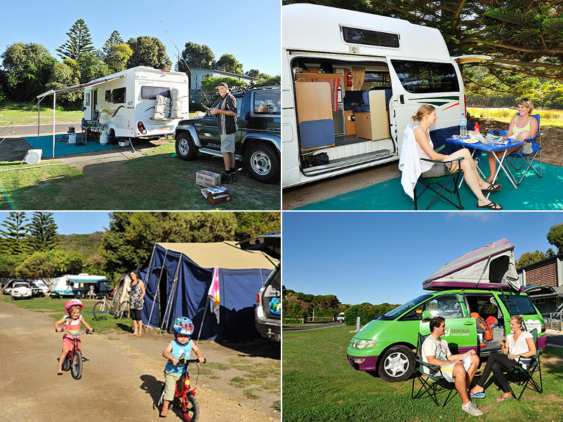 NRMA Port Campbell Holiday Park - Sites