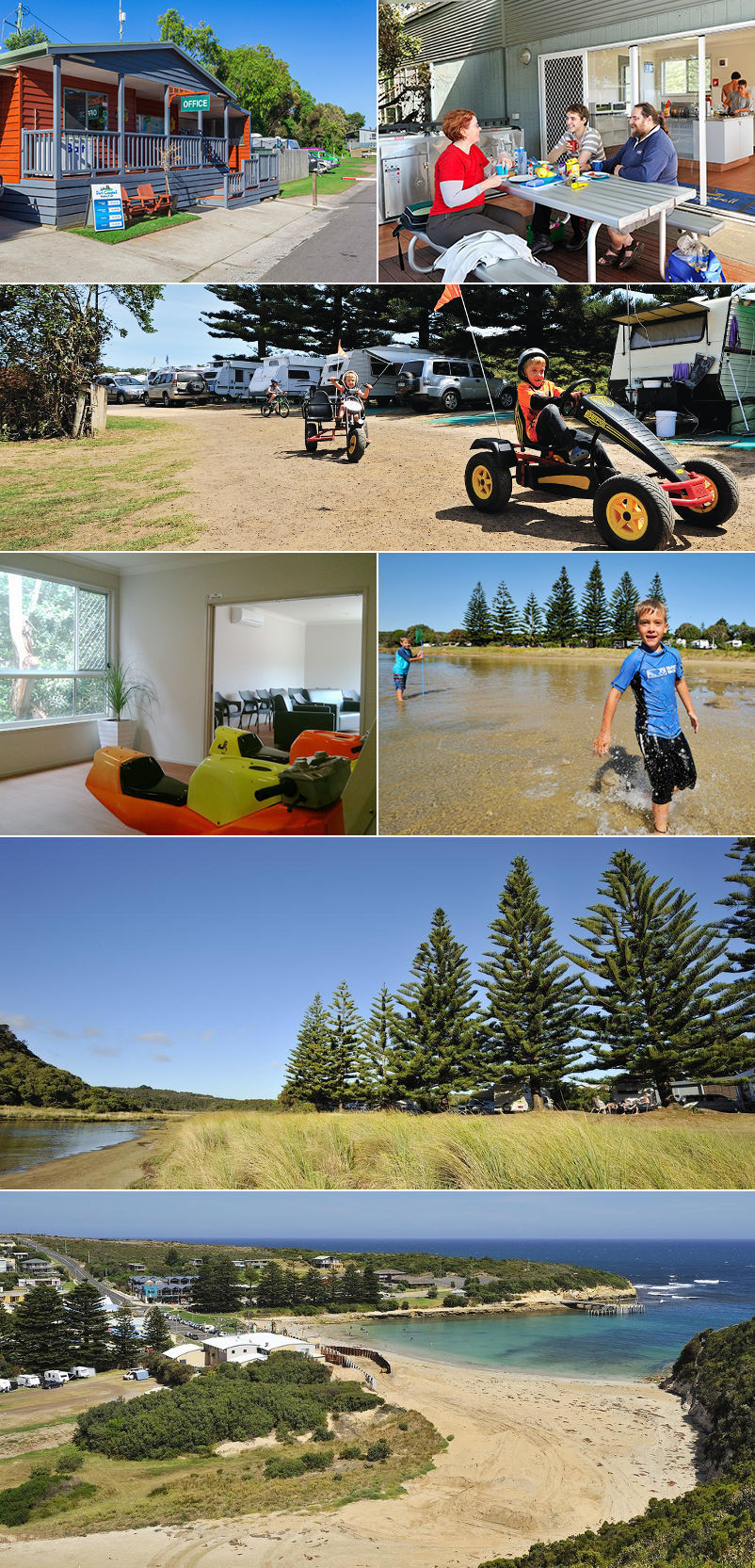 NRMA Port Campbell Holiday Park - Grounds and facilities